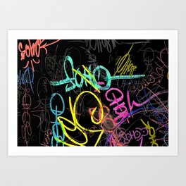 SOHO TAG Art Print