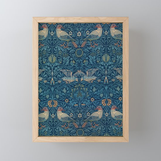 "William Morris ""Birds"" 1. by alexandra_arts"