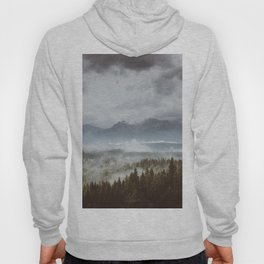 Misty mountains - Landscape and Nature Photography Hoody