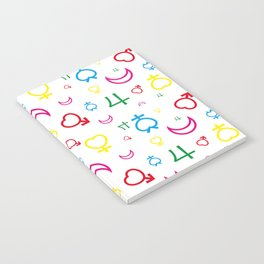 Sailor Moon - Texture Inner Senshi Notebook