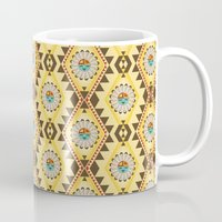 southwest Mugs featuring Southwest  by Mia Valdez