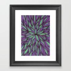 Fabulous flowers Framed Art Print