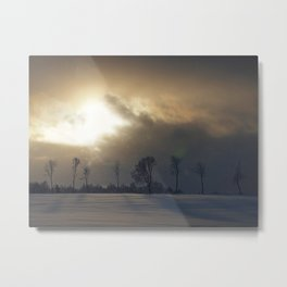 A blaze in the Northern sky Metal Print