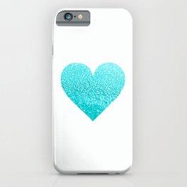 AQUA HEART iPhone Case