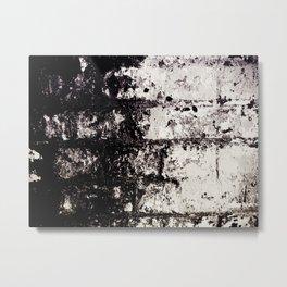 Wall of Darkness Metal Print