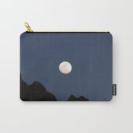 Moon Over the Sandias 6 Carry-All Pouch