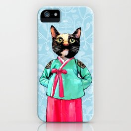 Jade and Pearl iPhone Case