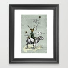 Cavalry Framed Art Print