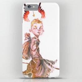 Winged Halo iPhone Case
