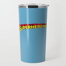 Superheroine Travel Mug