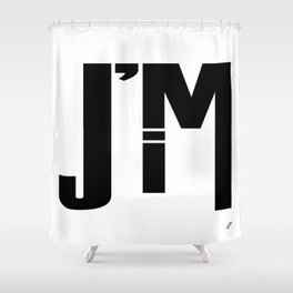 I'M JIM Shower Curtain