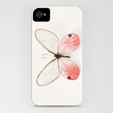 Pink Glasswing Slim Case iPhone (4, 4s)