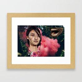 Gone shopping Framed Art Print