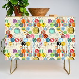 Math in color (little) Credenza