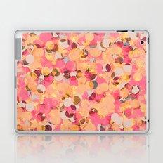Abstract Pattern - Peach & Pink Laptop & iPad Skin