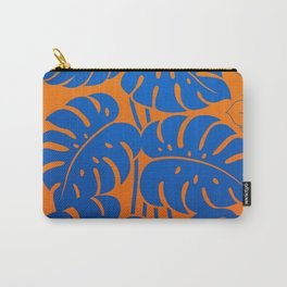 PLANTS - Philodendron#1_Orange bgr Carry-All Pouch