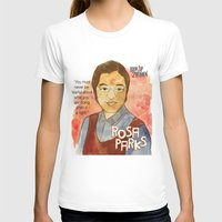 parks T-shirts featuring Rosa Parks by The History Witch