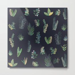 green garden at nigth Metal Print