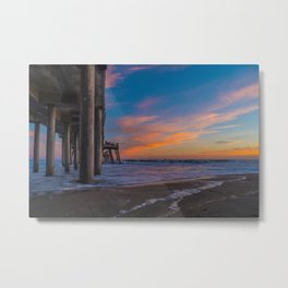 Low Angle North Side Sunset Metal Print
