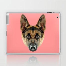 German Shepherd // Pink Laptop & iPad Skin