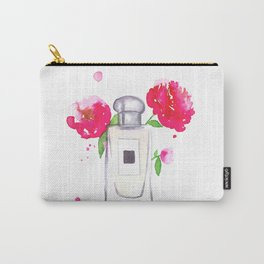 Peony Perfume Carry-All Pouch