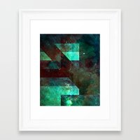 discount Framed Art Prints featuring Emerald Nebulæ  by Aaron Carberry