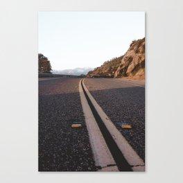Three Rivers Road Canvas Print