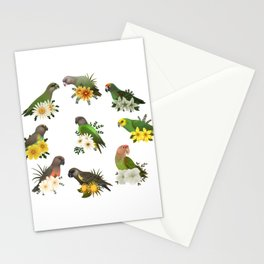 Poicephalus Parrots Stationery Cards