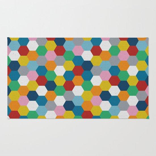 Honeycomb 3 Rug