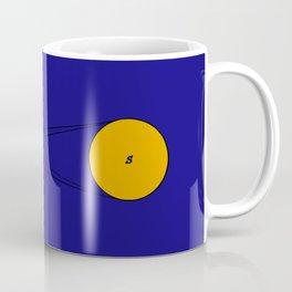 Solar Eclipse Illustrated Coffee Mug