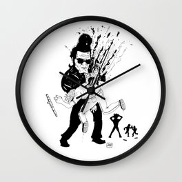Get out of my sight Wall Clock