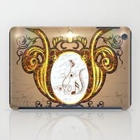 music notes iPad Cases featuring Key notes  by nicky2342