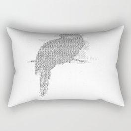 ASCII Rosella Rectangular Pillow