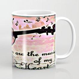 The music of the heart Coffee Mug