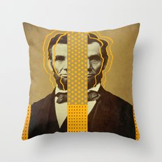 AbracadAbraham - Lincoln Throw Pillow