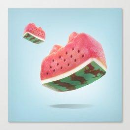 XiaoTieJun Watermelon Canvas Print