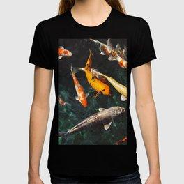 Geometric Koi Fishes T-shirt