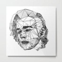 Matty Metal Print