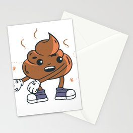 Floss Poop Stationery Cards