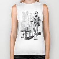 holiday Biker Tanks featuring HOLIDAY by ADAMLAWLESS