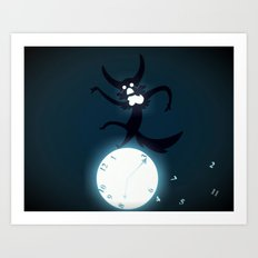 Discontent With Time Art Print