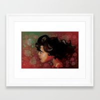 the lights Framed Art Prints featuring Lights by Jaleesa McLean