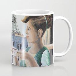 Tea Time in Paris Coffee Mug