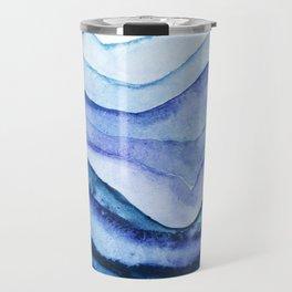 Washed Away Watercolor Travel Mug