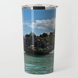 Crystal Rock, Mauritius Travel Mug