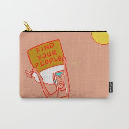 Find Your People Carry-All Pouch