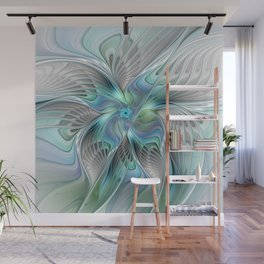 Abstract Butterfly, Fantasy Fractal Art Wall Mural