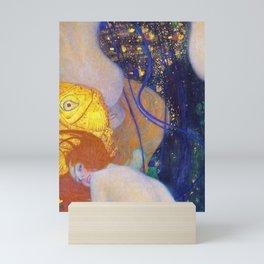 12,000pixel-500dpi - Gustav Klimt - Goldfische - Digital Remastered Edition Mini Art Print