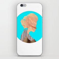 A strange kind of woman · the blue one · Crop Circle iPhone & iPod Skin