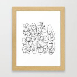 DigiLeroy 01 Framed Art Print